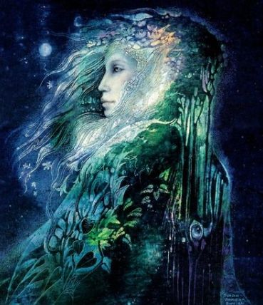 Celtic Mythology: The Tuatha De Danann/Sidhe: The Tuatha De Danann are known throughout ancient Ireland as the people of the goddess Dana/Danu (also known as mother). It's important to note that throughout history she became known as Brigit, who then got absorbed into Christian beliefs as a saint. According to the Annals of the Four Masters, the Tuatha De Danann ruled Ireland from 1897 to 1700 BC.