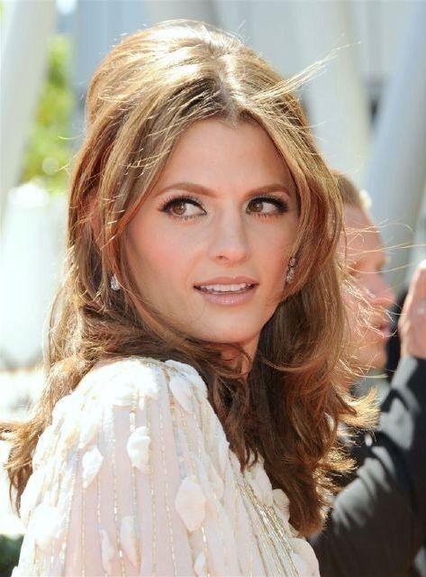 Perfect look! Hair & makeup inspiration via Stana Katic