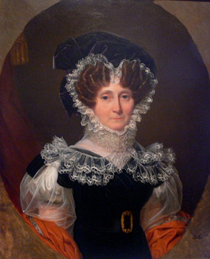 1828 Amalie Zephyrine von Hohenzollern-Sigmaringen, née Salm-Kyrburg by Auguste François Laby