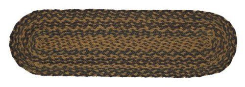 """Patriotic Patch Jute Stair Tread Oval 8.5x27"""" by Victorian Heart. $11.20. Product measurements and additional details listed in title and/or Product Description below.. All cloth items in our collections are 100% preshrunk cotton. All braided items (like rugs, baskets, etc.) are 100% jute. High end quality and workmanship!. Extensive line of matching items and accessories available! (Search by Collection name). See Product Description below for more details!. 100% Jute"""