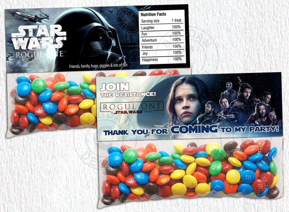 INSTANT DOWNLOAD Rogue One bag topper Star Wars by BogdanDesign