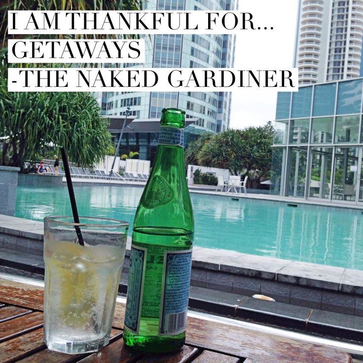 Join Kathy Gardiner, The Naked Gardiner each Thursdays to celebrate in the act of gratitude in the form of Thankful Thursdays.