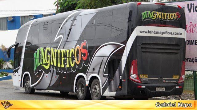SÉRGIO JOSÉ- ÔNIBUS ALAGOAS: CONHEÇA A FROTA DA BANDA MAGNIFICOS.