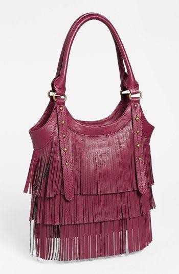 cute fringe bag!