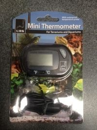 """Mini Thermometer """"Cheap""""$11.00 http://www.wildlifesupplies.com.au/products.html"""