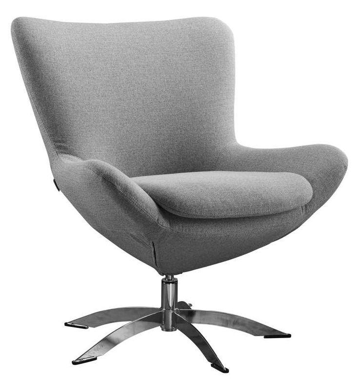 Draaifauteuil Capoverde biedt door zijn mooie belijning een eigentijds design gecombineerd met een zeer goed zitcomfort. Samen met de bij- passende hocker kun je hierin uren ontspannen zitten en genieten van de mooie vormgeving.