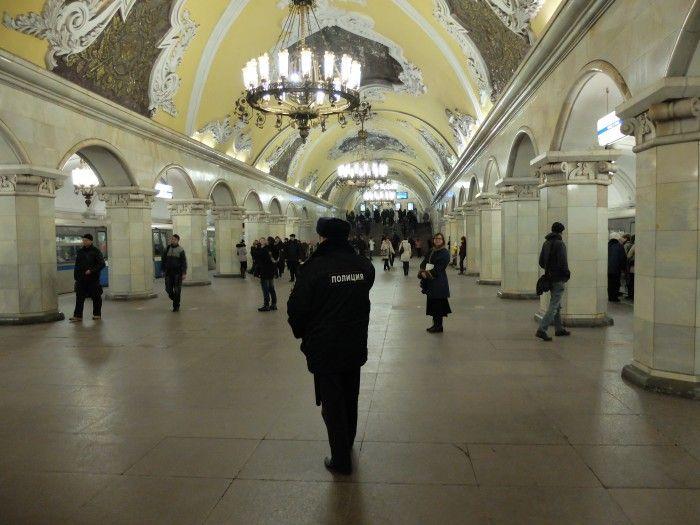 Métro de #Moscou ©Salaün Holidays