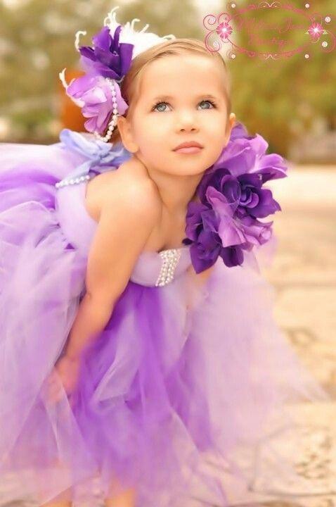 Gorgeous!! Flower girl!!..now i'm thinking purple...