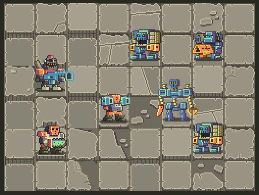 "Noppy en Twitter: ""I'm finally starting to have fun again working on these Mutant Gangland tiles. #ScreenshotSaturday #GameDev #PixelArt http://t.co/dVscFc9tcK"""