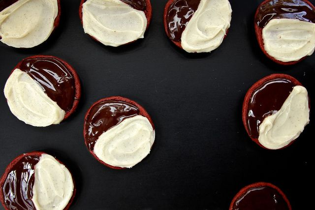 ... Cookies & Bars | Pinterest | Black And White Cookies, Red Velvet and