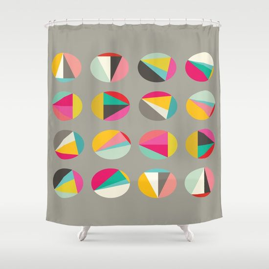 Irregular axiom Shower Curtain
