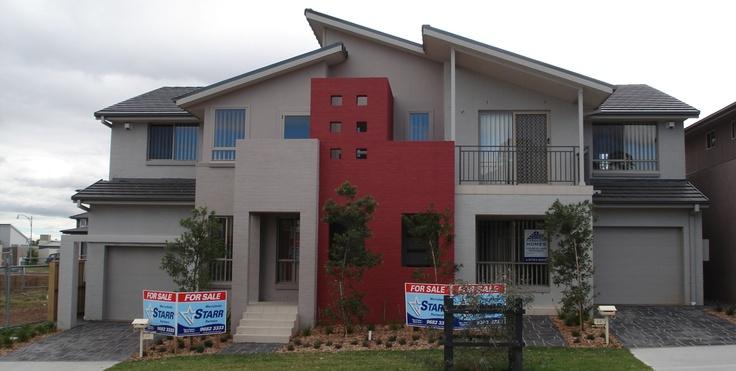 Casaview home designs hunter duplex visit www for Duplex designs prices