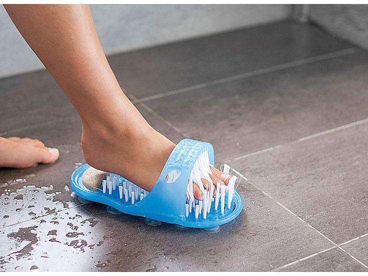 newgen medicals Dusch & Badewannen Bürste für bequeme Fußpflege