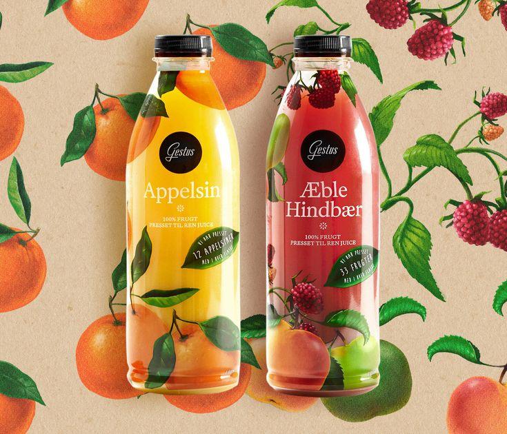 Gestus Juice — The Dieline - Package Design Resource