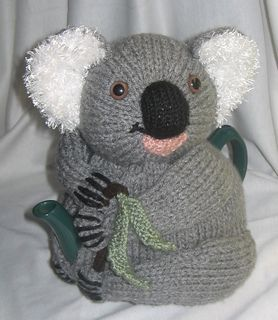 """I made this one twice in different poses – I designed him so that he could be made to sit in a variety of ways to look like a real koala. (I really dislike that """"cruciform koala"""" look!)"""