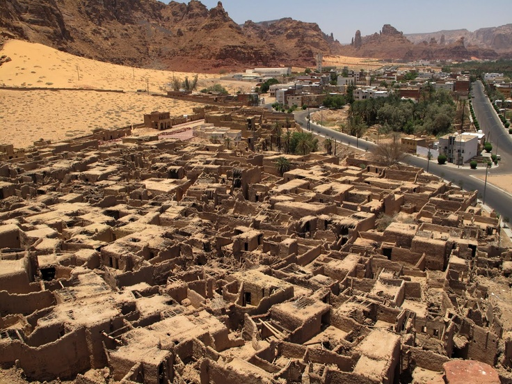 The old and modern town of Al-Ula by www.thesignaturehotels.com