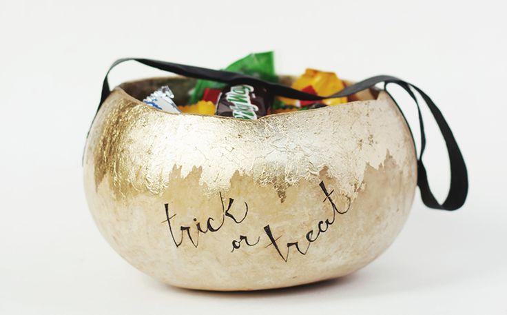 DIY Halloween Basket