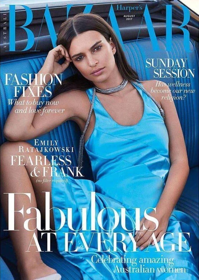 Emily Ratajkowski - Harper's Bazaar Australia, August 2017