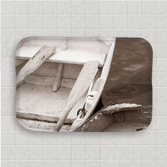 Nautical Bath Mat-Nautical Bathroom by NaturalLightStudio on Etsy