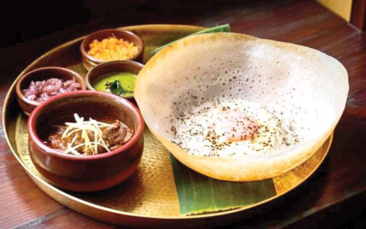 Colombo Food and Drink Specialties #colombo #food #srilankafood #hoppers #mustry