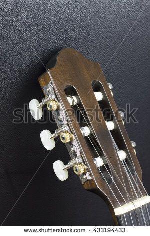 Dusty old guitar head