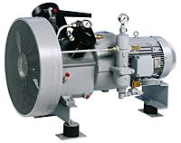 Sauer USA 2-stage-air-cooled Compressor