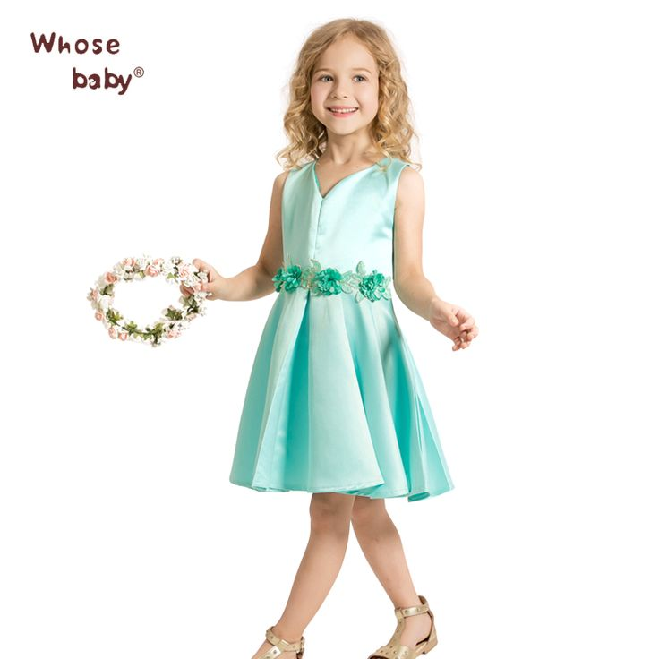 $13.98 (Buy here: https://alitems.com/g/1e8d114494ebda23ff8b16525dc3e8/?i=5&ulp=https%3A%2F%2Fwww.aliexpress.com%2Fitem%2FWhosebaby-new-girl-embroidered-high-grade-dress-princess-dress-skirt-D2214-Johnson-trade-2016%2F32682239561.html ) Whosebaby Regular Solid Dresses Sleeveless Cotton A-Line Brief Sashes Knee-Length V-Neck Polyester Satin girl All trim Dresses for just $13.98