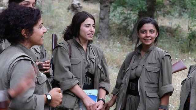 Welcome To Top Secret Zone: NEWS: The Kurdish and Yazidi women taking up arms ...
