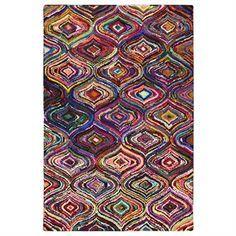 Chinidi Carnivale Palace Hand Tufted Cotton Rag Rug - 200x300cm