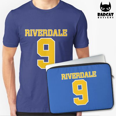 'Riverdale – Bulldogs Number 9 Football Shirt' design inspired by the new American teen drama television series based on the characters by Archie Comics. #Riverdale #TShirt #Tee #Shirt