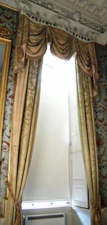 Curtain 1770 1800 Materials Silk Damask National Trust