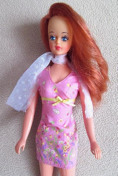 Miss LiliLedy Tressy doll from the 70's.