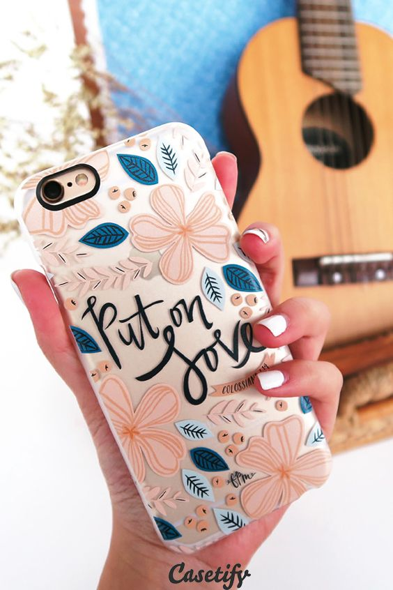 Click through to see more Inspirational Quote iPhone 6 phone case designs!  Bring your favourite quote with you! >>> https://www.casetify.com/collections/inspirational_quotes | @casetify