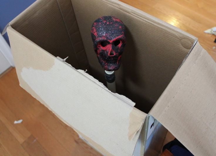 How-to Make a Halloween Haunted House pop-up