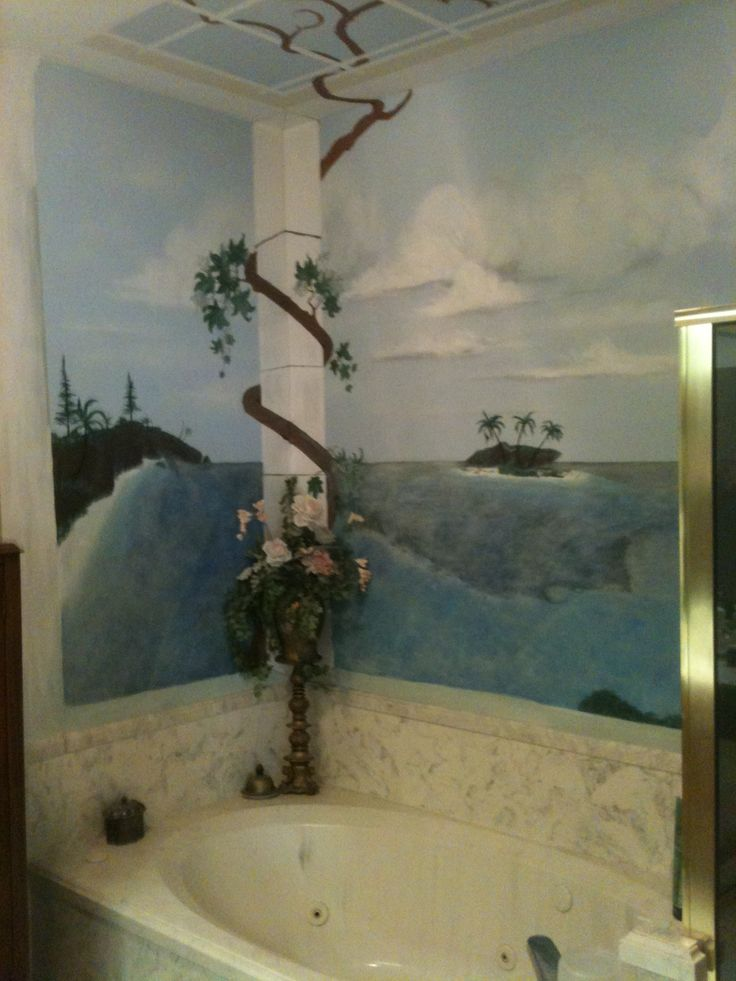 45 Best Images About Bathroom Murals On Pinterest Beach