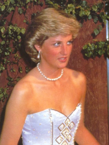 """June 29, 1987: Prince Charles & Princess Diana attended """"The Living Daylights"""" premiere held at the Odeon Leicester Square Theatre in London."""