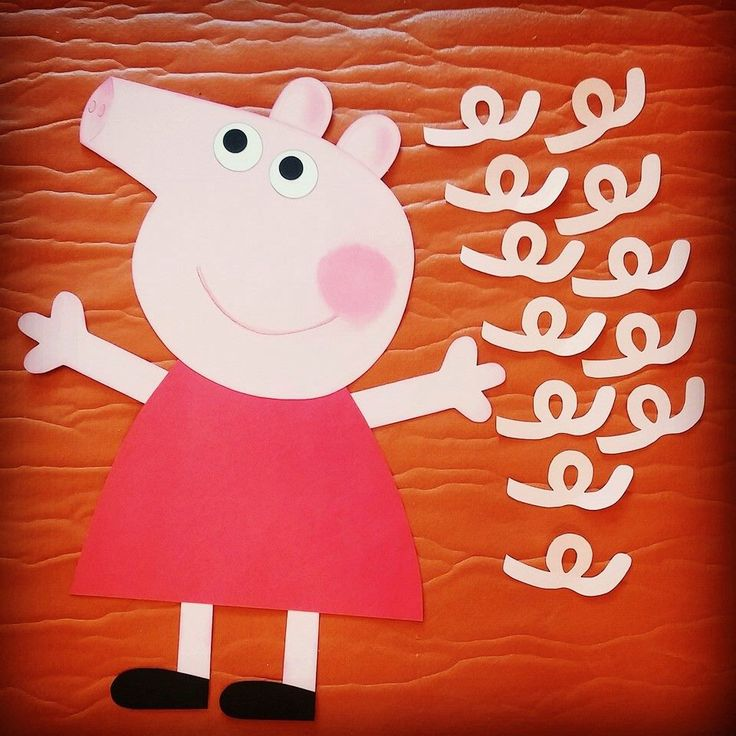 Peppa Pig Birthday Party Pin the Tail on Peppa Game by ConnieHertzCraftz on Etsy https://www.etsy.com/listing/223138863/peppa-pig-birthday-party-pin-the-tail-on