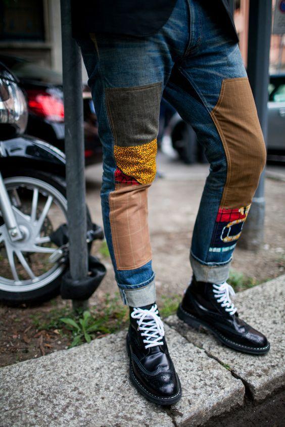Street style at Milan Mens Fashion Week Spring 2017