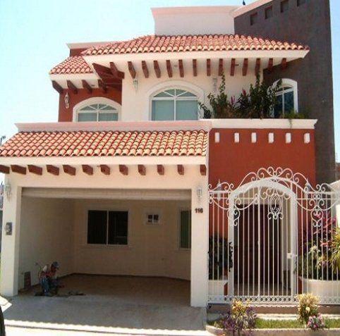 Las 25 mejores ideas sobre fachadas de casas coloniales for Fachadas de casas modernas con zaguan