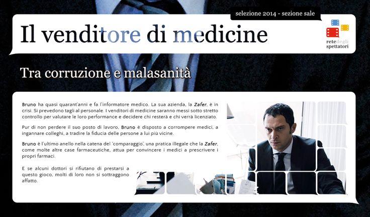 """""""Il venditore di medicine"""" tra corruzione e malasanità"""