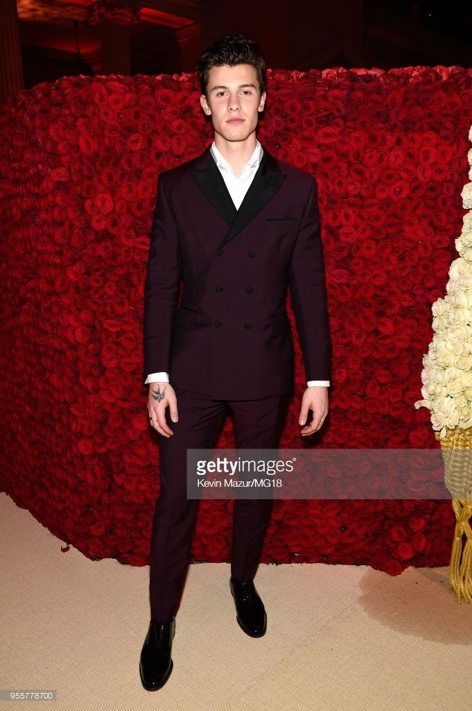 7a901632956 Shawn Mendes attends the Heavenly Bodies  Fashion   The Catholic  Imagination Costume Institute Gala at The Metropolitan Museum of Art on May  7