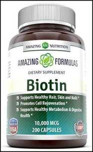 Amazing-Nutrition-Biotin-  #Biotin #HairLoss #HairGrowth