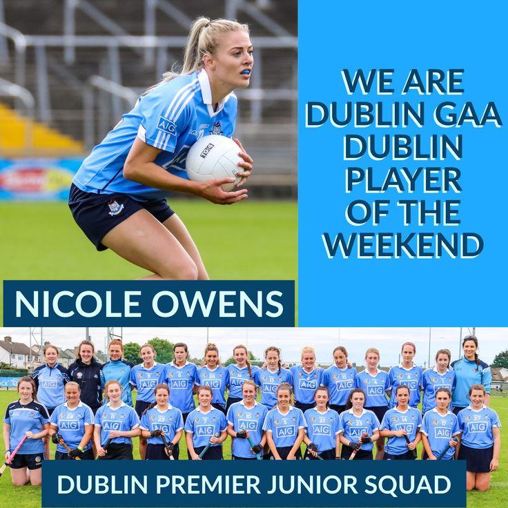WE ARE DUBLIN GAA, DUBLIN PLAYER OF THE WEEKEND   We Are Dublin GAA