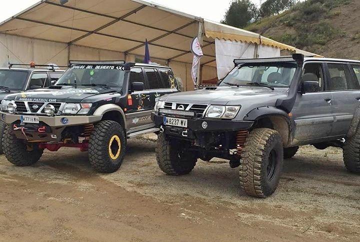 Two fantastic Nissan Patrol Gr Y61