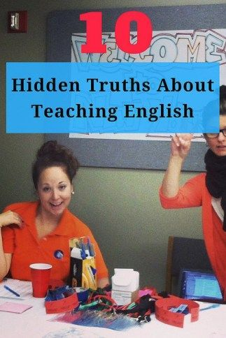 10 Hidden Truths about Teaching English -- From professionalism to prejudice to phrasal verbs. Lessons I learned after I got my CELTA when I actually started teaching English.