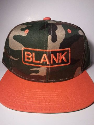 This hat is a camo snapback! $20 and all proceeds are donated!  www.blankhatsforcharity.com for more details!