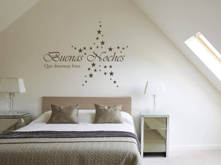19 best Slaapkamer muurstickers // Wall-art bedroom images on ...