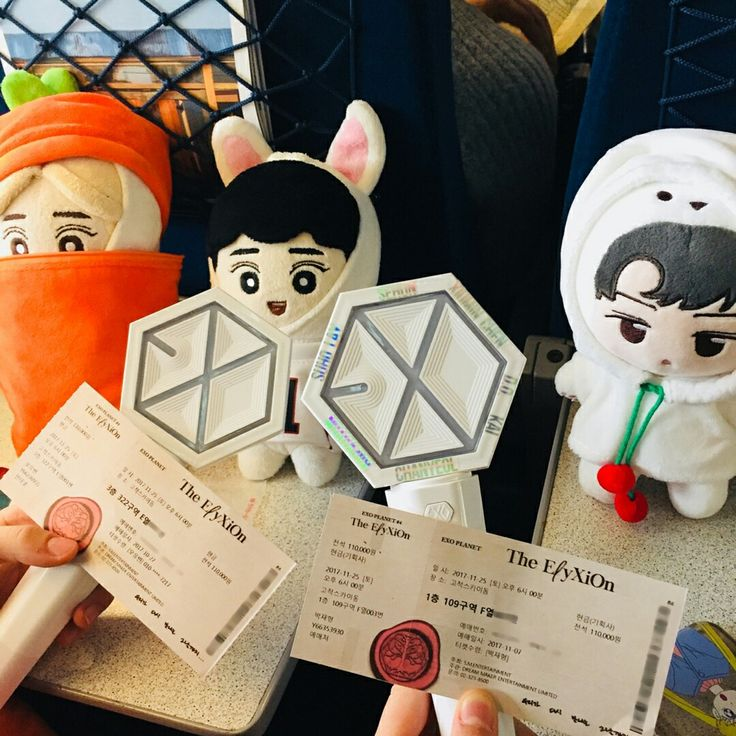 || EXO LIGHTSTICK with EXO DOLL || 171126-24 The ElyXiOn in Seoul #EXO #exolightstick #goods