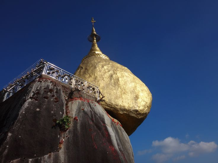 Golden Rock. Myanmar