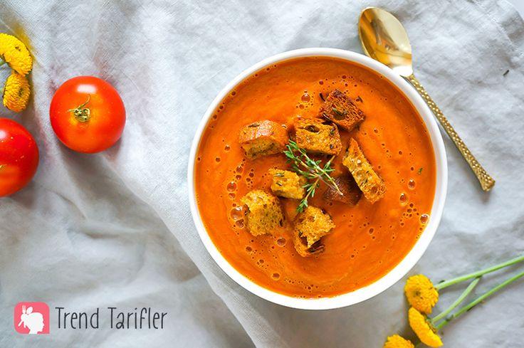 Domates Çorbası Tarifi - Trend Tarifler